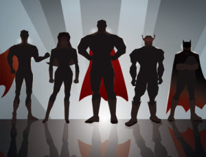 Superhero Thumbnail Mastermind Escape Rooms